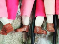 De Kring-loop der dingen (roze voetjes)